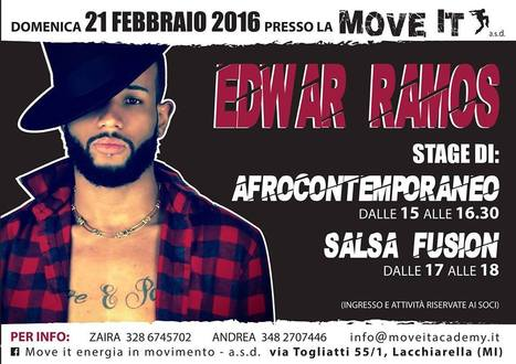 STAGE AFROCONTEMPORANEO…