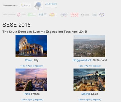 South European Systems Engineering Tour (SESE)