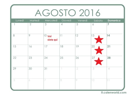 Aggiornamento Iscrizioni Stagione Sportiva 2016/2017