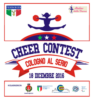 HAPPY CHRISTMAS Cheerleading & Cheerdance Open Contest 2016