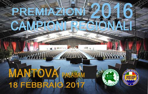 Premiazioni Campioni Regionali…