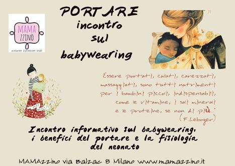 PORTARE Incontro sul babywearing