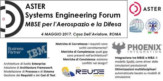 ASTER Systems Engineering Forum