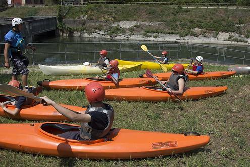 Prove di canoa