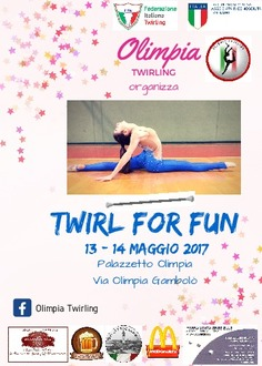 III Prova Twirling for Fun