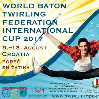 INTERNATIONAL TWIRLING CUP 2017 - POREC - Croazia