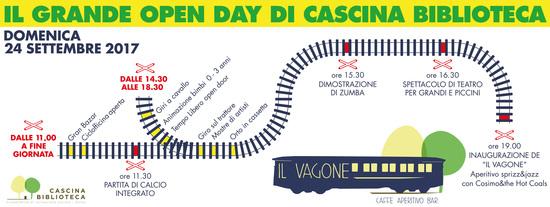 GRANDE OPEN DAY DI CASCINA BIBLIOTECA