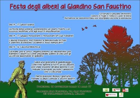 Festa degli alberi al Giardino di San Faustino