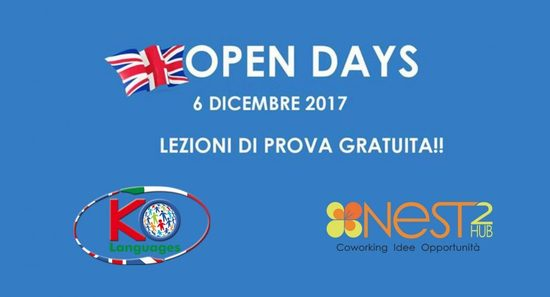 OPEN DAY di KO LANGUAGES a scuola di inglese