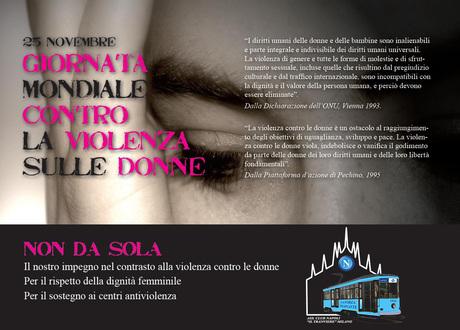 25 novembre, giornata mondiale contro la violenza sulle Donne