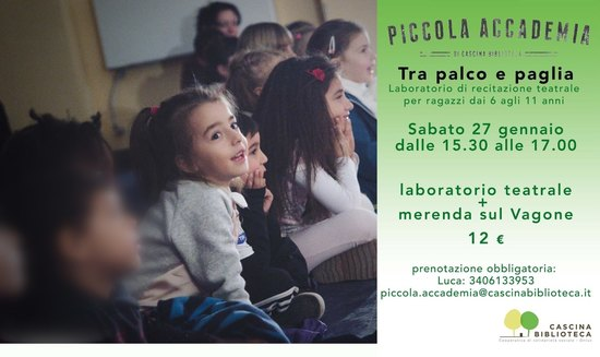 TRA PALCO E PAGLIA laboratorio di recitazione 6-11 anni