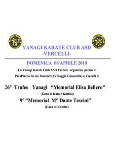 Trofeo Yanagi Vercelli