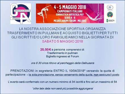 2° prova Serie A: vieni con noi!
