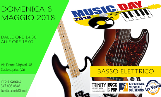 MUSIC DAY BASSO