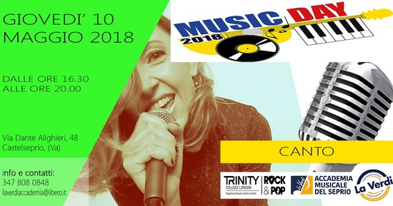 MUSIC DAY CANTO