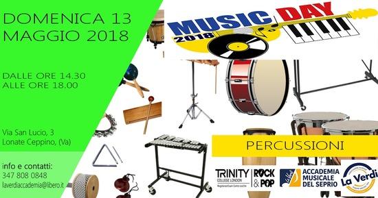 MUSIC DAY PERCUSSIONI