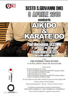 Stage Aikido Karate 2018