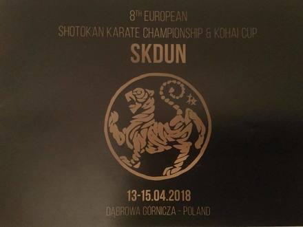 SKDUN campionato Europeo 2018 (Polonia)