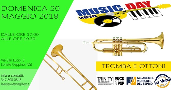 MUSIC DAY TROMBA E OTTONI