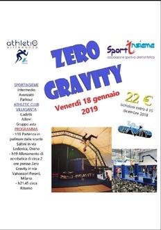 Allenamento Zero Gravity
