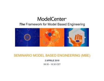 Seminario Model Based Engineering (MBE)