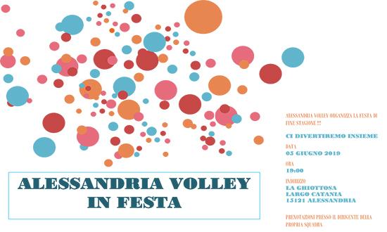 FESTA DI CHIUSURA STAGIONE 2018/19