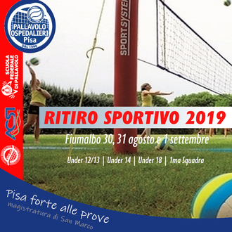 Ritiro sportivo Fiumalbo 2019