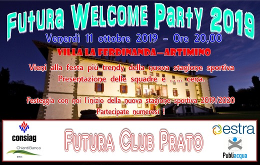 FUTURA WELCOME PARTY 2019