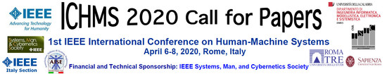 ICHMS 2020 International Conference on Human-machine Systems