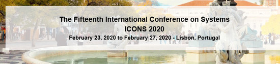 ICONS 2020 - the 15th International Conference on systems