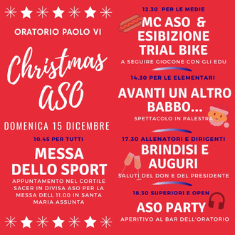 Festa di Natale ASO
