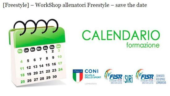 FISR - WorkShop allenatori…