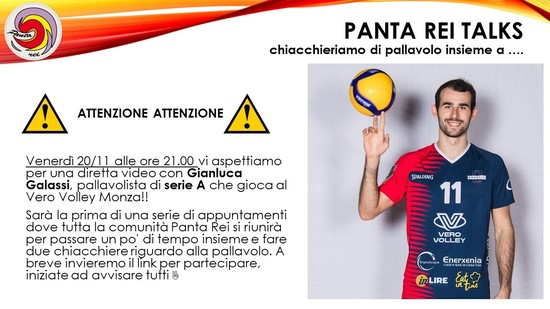 Panta Rei Talks ... Ospite Gianluca Galassi