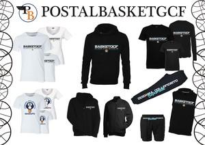 t-shirt bianca scritta basketcgf