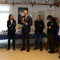 Grande partecipazione al Circolo canottiero triestino CC Saturnia: successo per la Festa di fine anno sociale