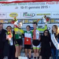 Bis Tricolore di Alessandra Grillo ai Campionati Italiani di ciclocross 2015
