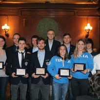 Premiazioni 2014 – Comitato FIC e Associazione Nazionale Atleti Azzurri