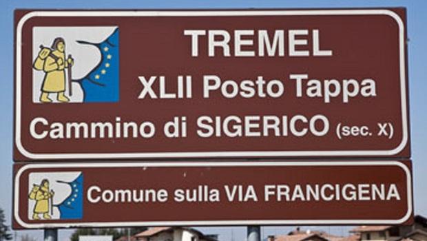 Cammino di Sigerico - Via Francigena