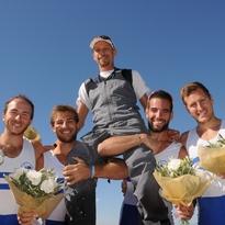 """Campionati Mondiali di Coastal Rowing – Lima (Peru') 13-15 novembre 2015 """"Aiutate a difendere il titolo mondiale del Saturnia"""" – TELE4 –"""
