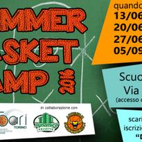 SUMMER BASKET CAMP 2016