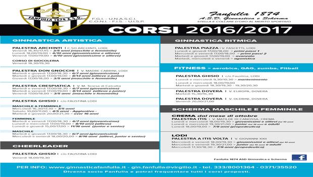 Locandina corsi 2016/2017