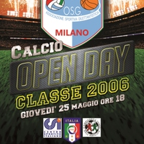 OPEN DAY – CLASSE 2006