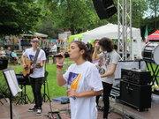 Saggio allievi accademia musicale 20 maggio 2017 parco comunale di Castelseprio