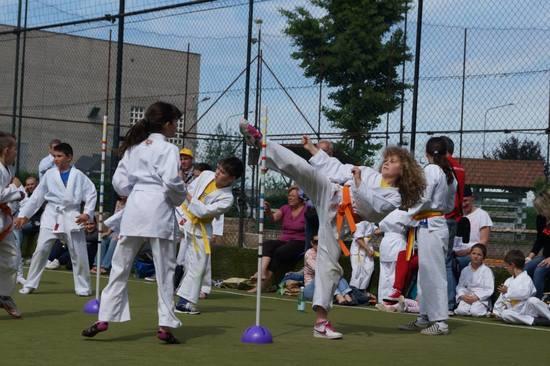 Allenamento Karate Bambini