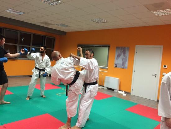 Allenamento Karate sportivo