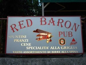 RED BARON PUB