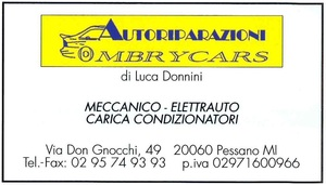 Autoriparazioni Ombry Cars