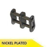 08B2-NP 1/2inch Pitch Connecting Link - Nickle Pla...