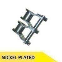 08B2-NP 1/2inch Pitch Half Link - Nickel Plated (Dunlop)