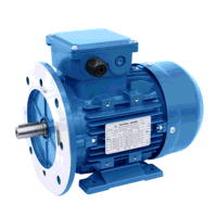 0.66kW/0.45kW 4 & 6 Pole Constant Torque Two Speed B35 Foot & Flange Mount Motor